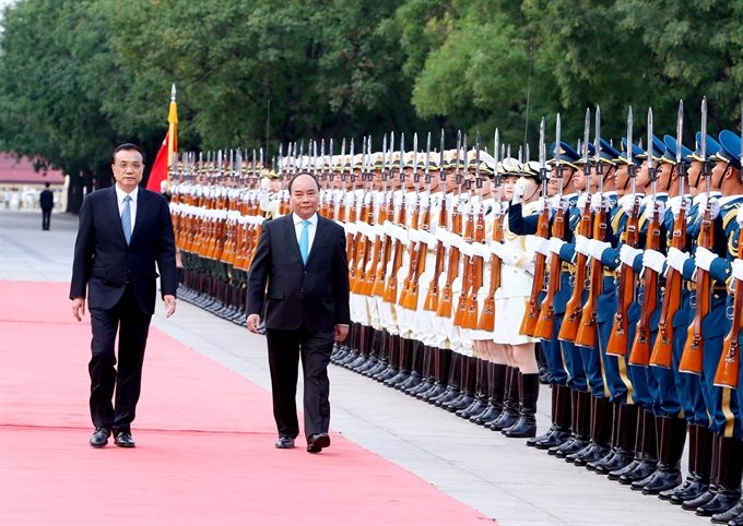 VIET NAM,CHINA TO DEEPEN STRATEGIC TIES